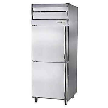 雙門半藏半凍立式冰箱