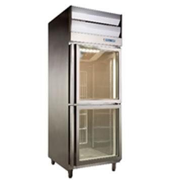 雙門全凍展示冰箱